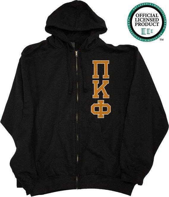 Pi Kappa Phi full zip sweatshirt