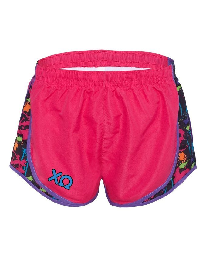 Alpha Chi women's running shorts