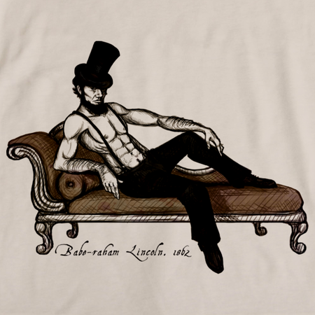 'Babe'Raham Lincoln T-shirt